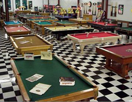 Bullseye Games - New brunswick pool table