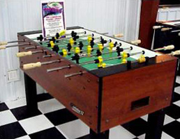 bullseye specializes in the sale of new brunswick pool tables and all billiard related accessories bullseye also carries tornado foosball tables - Foosball Table For Sale